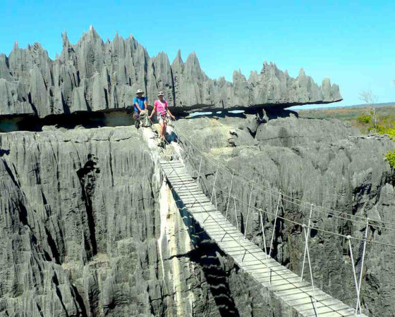 Tsiribihina river trip and Tsingy of Bemaraha tour